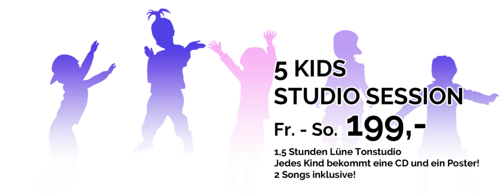 Fünf Kinder